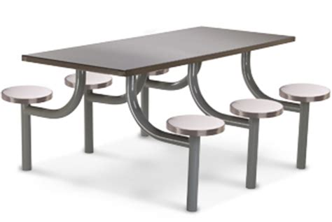 industrial canteen table with chair in faridabad haryana