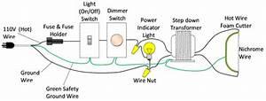 Wiring Diagram Hot Wire Foam Cutter