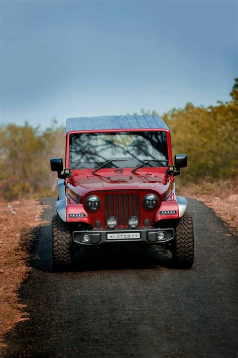 mahindra thar crdi  modified  jeep atindianauto