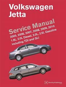 Front Cover - Vw - Volkswagen Repair Manual  Jetta  2005-2010 - Bentley Publishers
