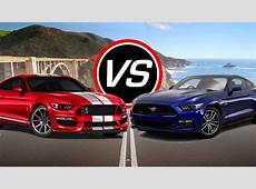 2016 Ford Mustang Shelby GT350 vs Mustang GT Spec