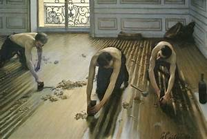 picturing impressionism gustave caillebottes trace on art With tableau les raboteurs de parquet