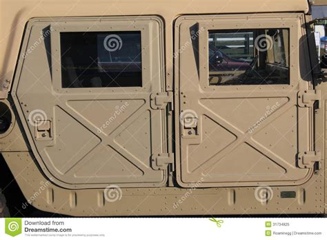 humvee view view of military humvee royalty free stock photo