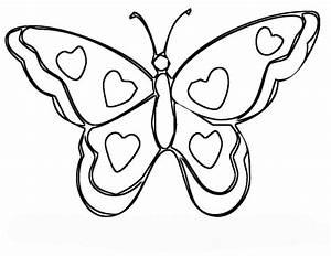 Ausmalbilder, Schmetterling, Kostenlos, Ausdrucken