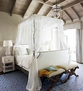 Himmelbett Weiß Holz : 33 erstaunliche wei e himmelbett designs f r ihr schlafzimmer ~ Yasmunasinghe.com Haus und Dekorationen