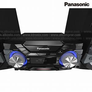 Equipo Mini Componente Panasonic Akx800 Pnk Ktronix Tienda Online