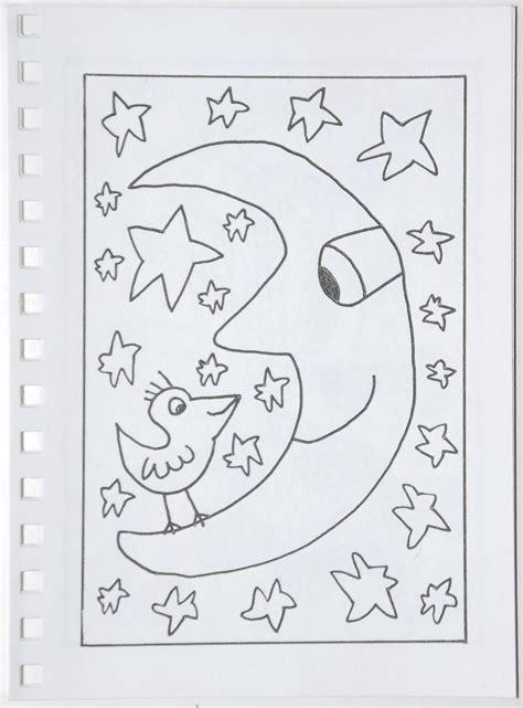 james rizzi bird  moon galerie  ausmalbilder