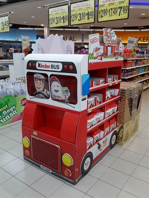 Kinder Verkaufen by Kinder Supermarket In Store Promotion Point Of