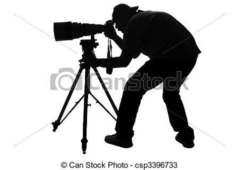 12144 professional photographer clipart drawings of professional sports photographer silhouette