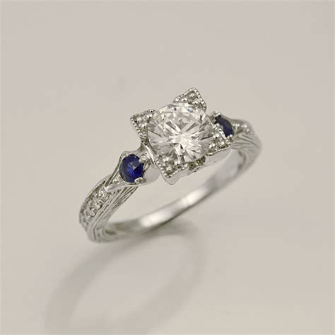 gold wedding rings for ring carizza sapphire 39 s treasure