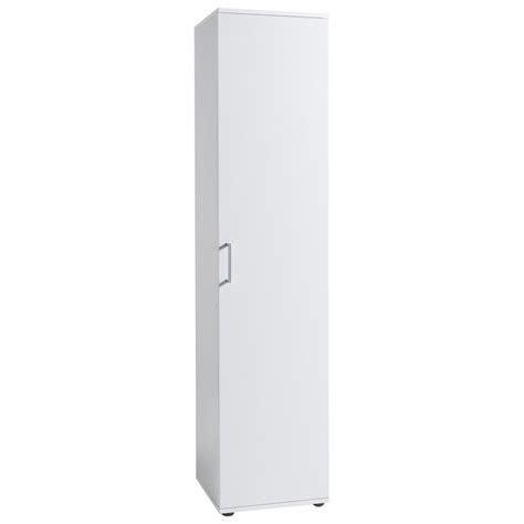 colonne de rangement pour chambre meuble de rangement colonne 1 porte 40 cm blanc autres