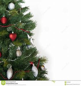Christmas tree stock image. Image of brilliant, hearts ...