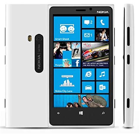nokia lumia 920 rm 820 32gb at t unlocked gsm 4g lte windows 8 os smartphone white erics