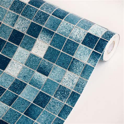 peel and stick kitchen backsplash tiles home decor blue self adhesive backsplash roll peel n