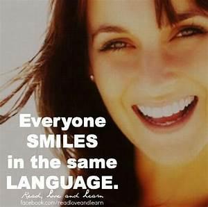 smile - Everyon... Same Smile Quotes