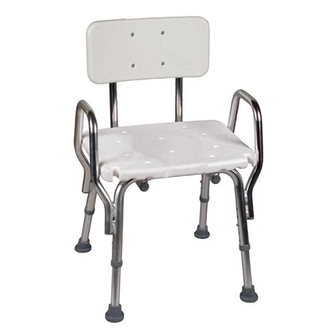 shower chair with back and arms colonialmedical