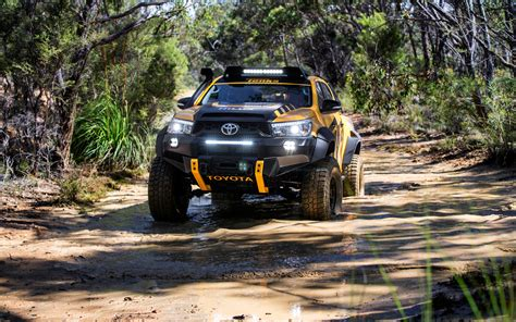 Toyota Fortuner 4k Wallpapers by Toyota Hilux Tonka Concept Truck 2017 Wallpapers Hd