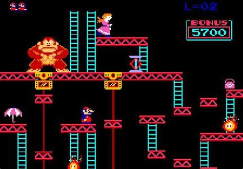 From the 80's: Video game Donkey Kong | The Fabulous 80's ...