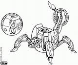 Bakugan Coloring Fencer Printable Sphere Mechanical Games Trap Oncoloring sketch template