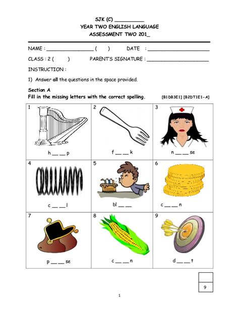 maths worksheets  year  malaysia