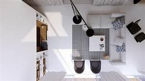 Living Room Overhead View Interior Design Ideas