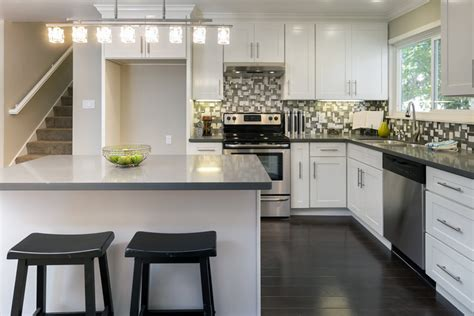 tips   functional  shaped kitchen design diy home art