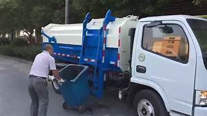 High Quality Street Cleaning Garbage Truck Bin Cleaning