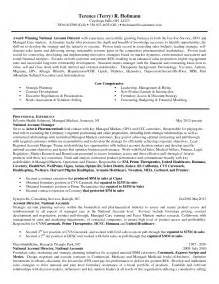 sales account manager resume templates sales account manager resume sle resume format