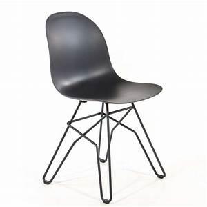 Chaise Design Metal : chaise design en polypropyl ne et m tal 1664 academy connubia 4 ~ Teatrodelosmanantiales.com Idées de Décoration