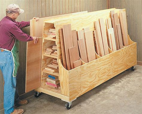 scrap wood storage cart plans