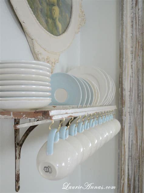 laurieannas vintage home diy shutter plate rack