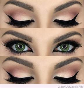 Everyday Makeup For Green Eyes – Watch out Ladies
