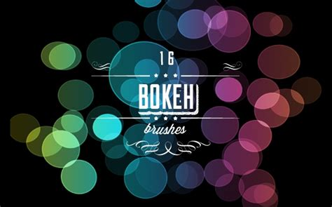 bokeh brushes  abr format  design