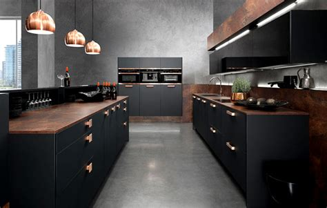 cuisine noir mat ikea interior design trends 2015 the color schemes are