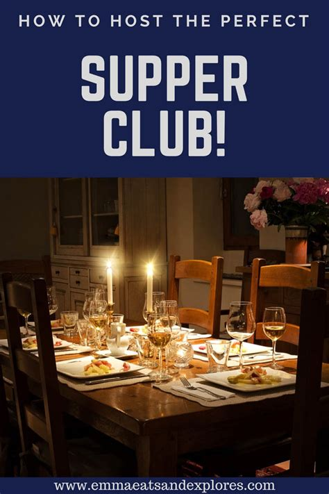 How To Host A Supper Club  Emma Eats & Explores