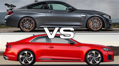 2016 Bmw M4 Gts Vs 2017 Audi Rs5