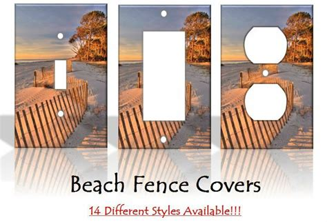 Home Decor Outlet: Beach Fence Sand Dunes Light Switch Covers Home Decor