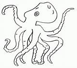 Coloring Octopus Printable Octopuses Sheets Adult Animals Sea Coloringme Colored Bestcoloringpagesforkids Children Preschool Follow Underwater sketch template