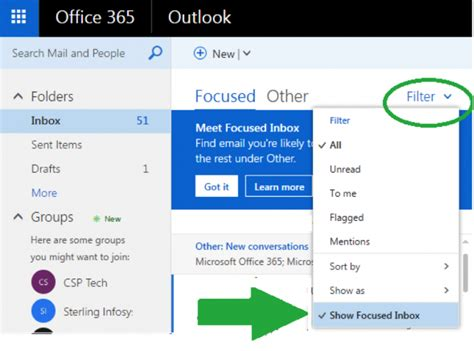 Office 365 Outlook Focused Inbox by Email Archive Migrationfrankie S Email Archive