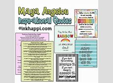 Maya Angelou Quotes Be Inspired! {part 2} inkhappi