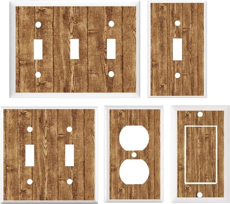 rustic light switch covers image of rustic barn board brown light switch cover plate