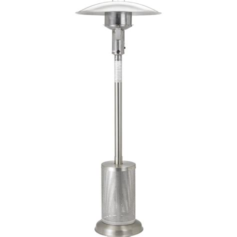 sunglo 40000 btu propane gas patio heater stainless