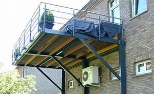 Terrasse Metallique Suspendue : terrasse suspendue galva nos conseils ~ Dallasstarsshop.com Idées de Décoration