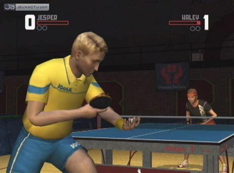 si鑒e de table 360 test table tennis sur wii