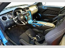 Highly Modified 2012 Grabber Blue Ford Mustang Gallery
