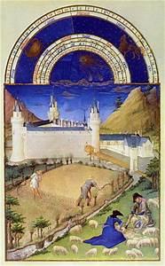 Fascimile, Of, July, Harvesting, And, Sheep