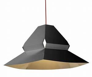 Abat Jour Design : abat jour design fixer au plafond facette 38 3 x 77 3 cm ~ Melissatoandfro.com Idées de Décoration