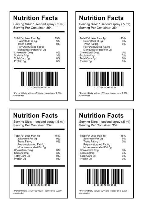 etichetta alimentare software  stampa etichette adesive
