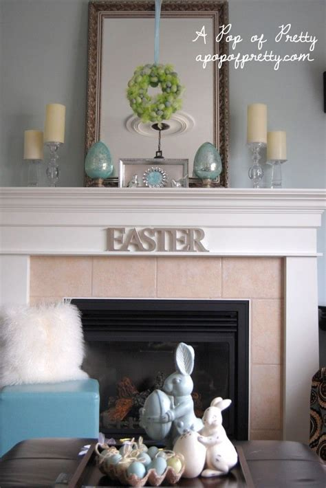 ideas for decorating a mantel easter decorating ideas decorate a simple easter mantel fireplaces mantel ideas and easter decor