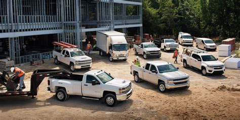 2018 Commercial Vehicles Overview Chevrolet